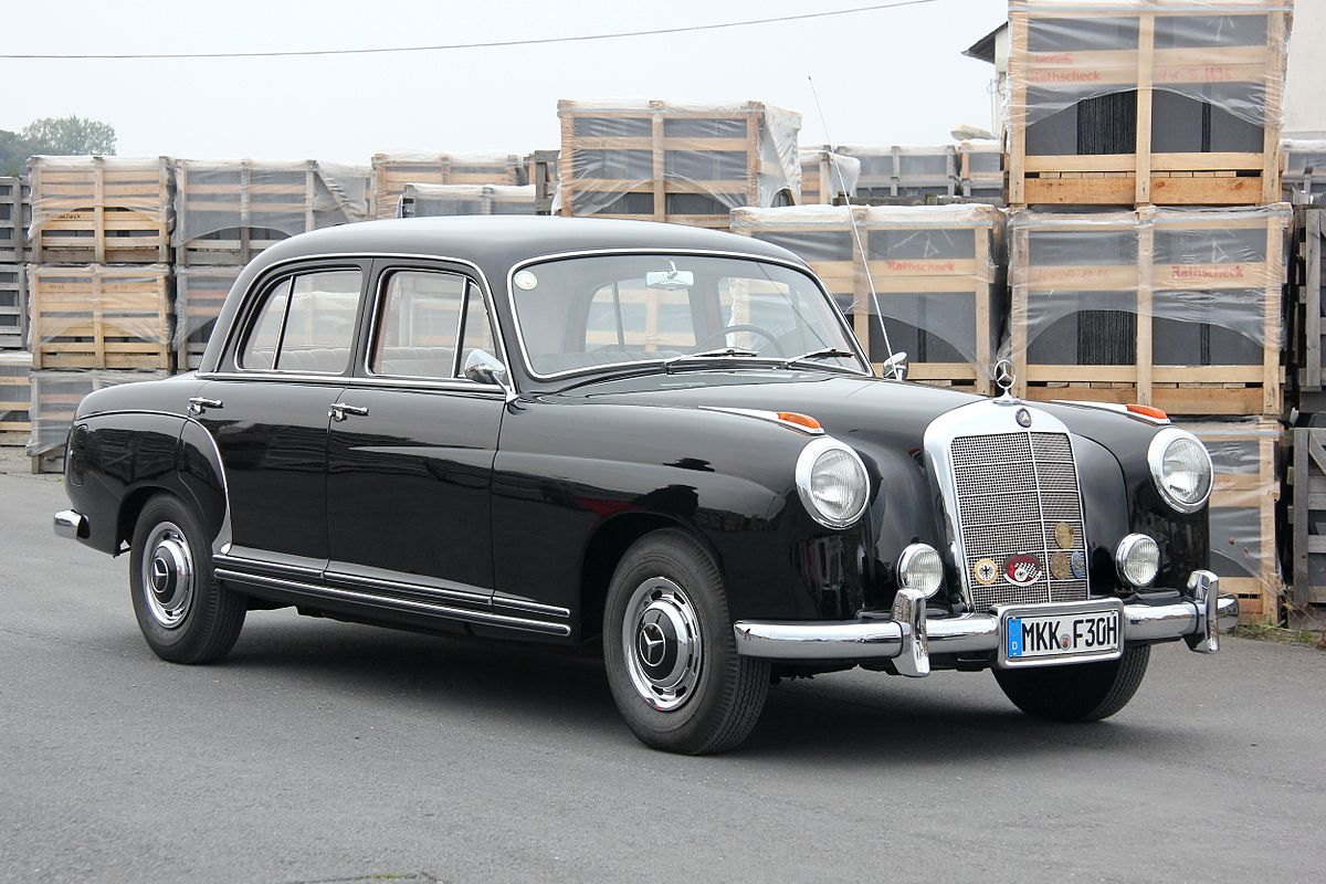 Mercedes-Benz W128 1958 - 1960 Coupe #6