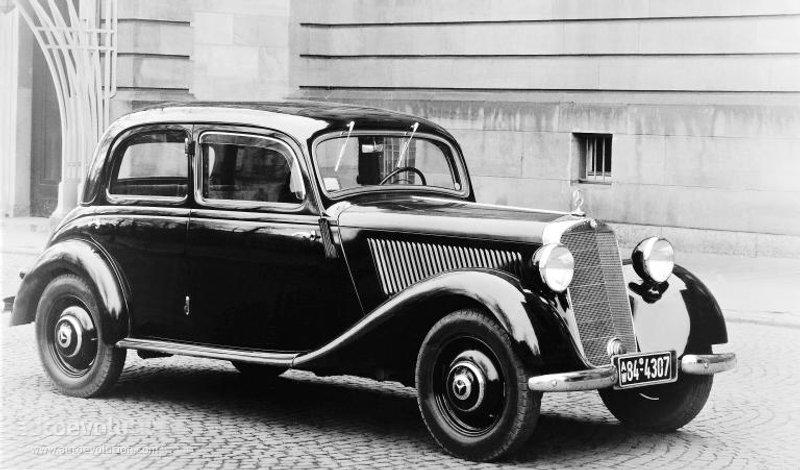 Mercedes-Benz W136 1936 - 1955 Sedan #4