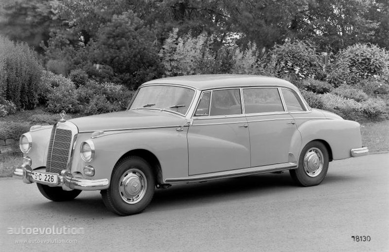 Mercedes-Benz W189 1957 - 1962 Sedan #2