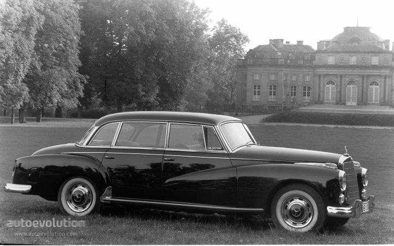Mercedes-Benz W189 1957 - 1962 Sedan #8
