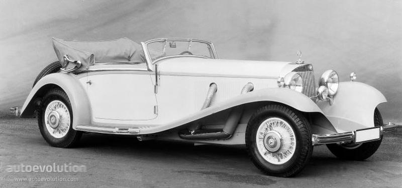 Mercedes-Benz W29 I 1934 - 1936 Cabriolet #4