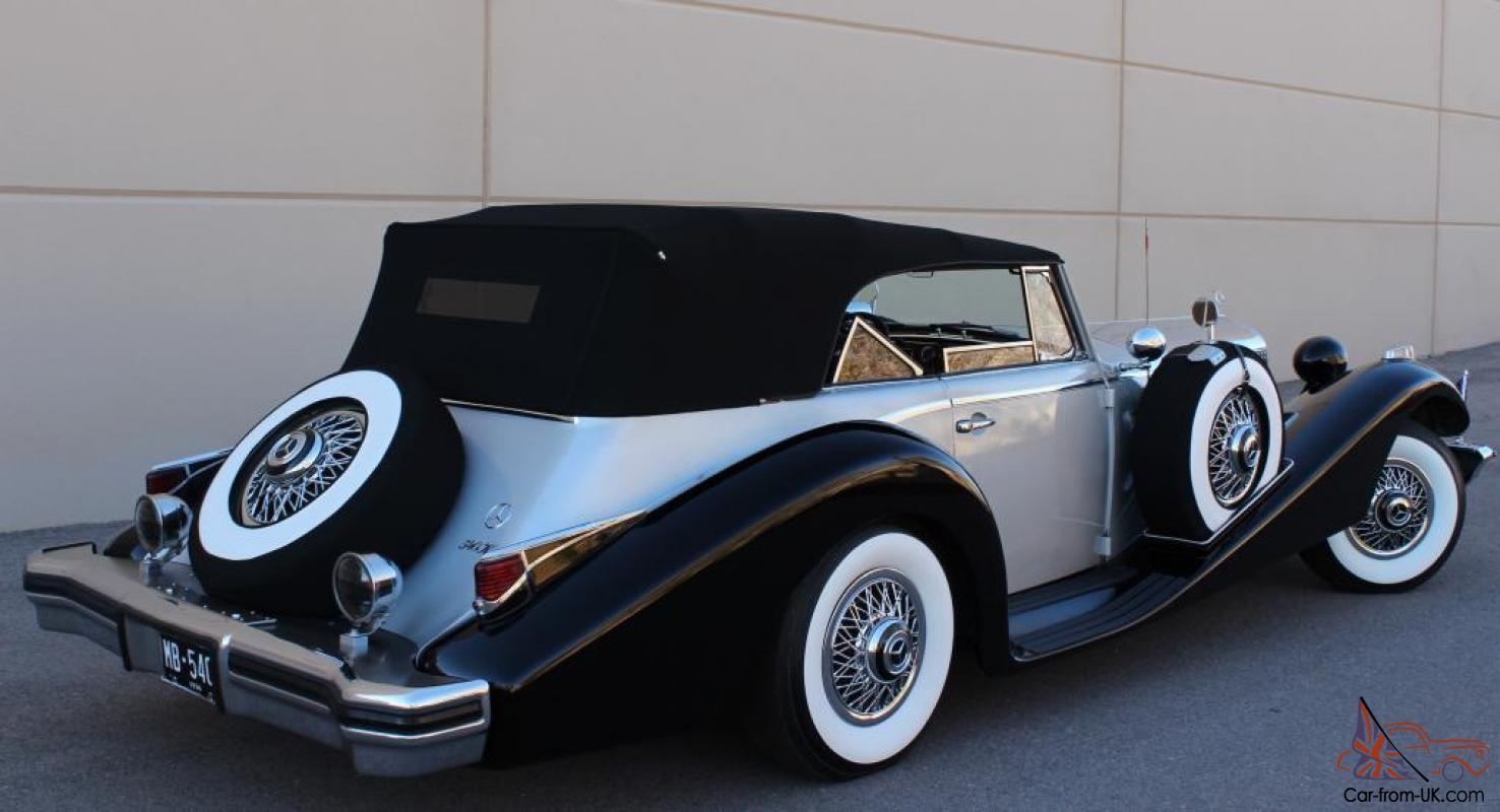 Mercedes-Benz W29 I 1934 - 1936 Cabriolet #1