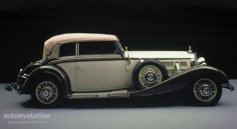 Mercedes-Benz W29 I 1934 - 1936 Cabriolet #3