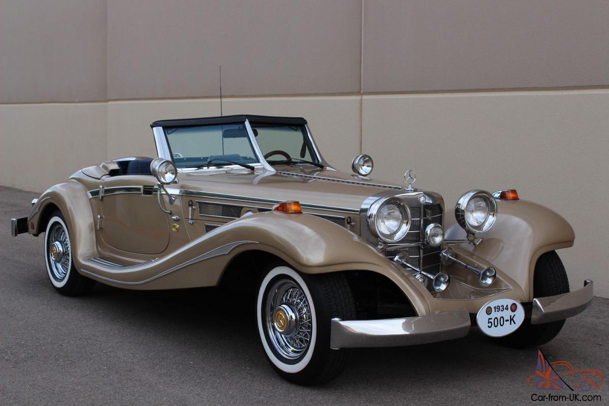 Mercedes-Benz W29 I 1934 - 1936 Cabriolet #6