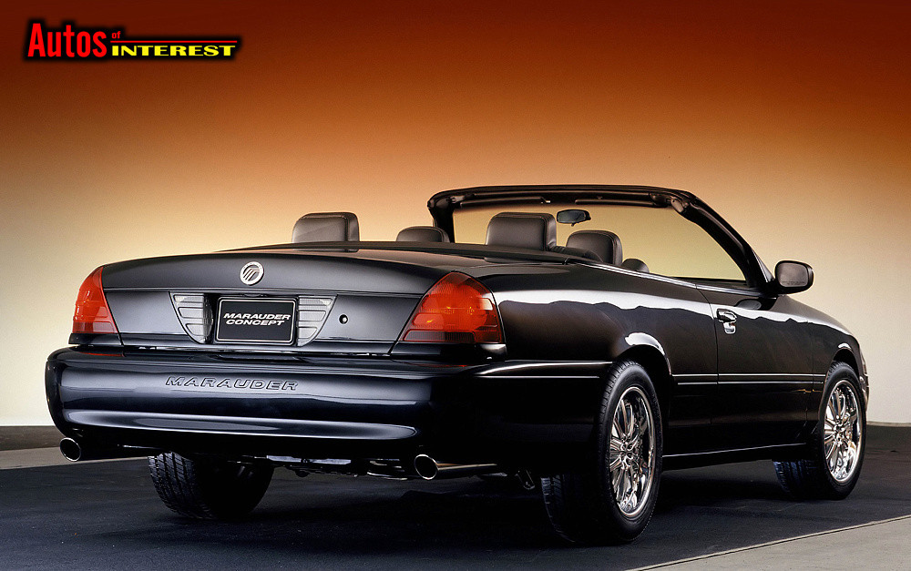Mercury Marauder 2002 - 2004 Cabriolet #4