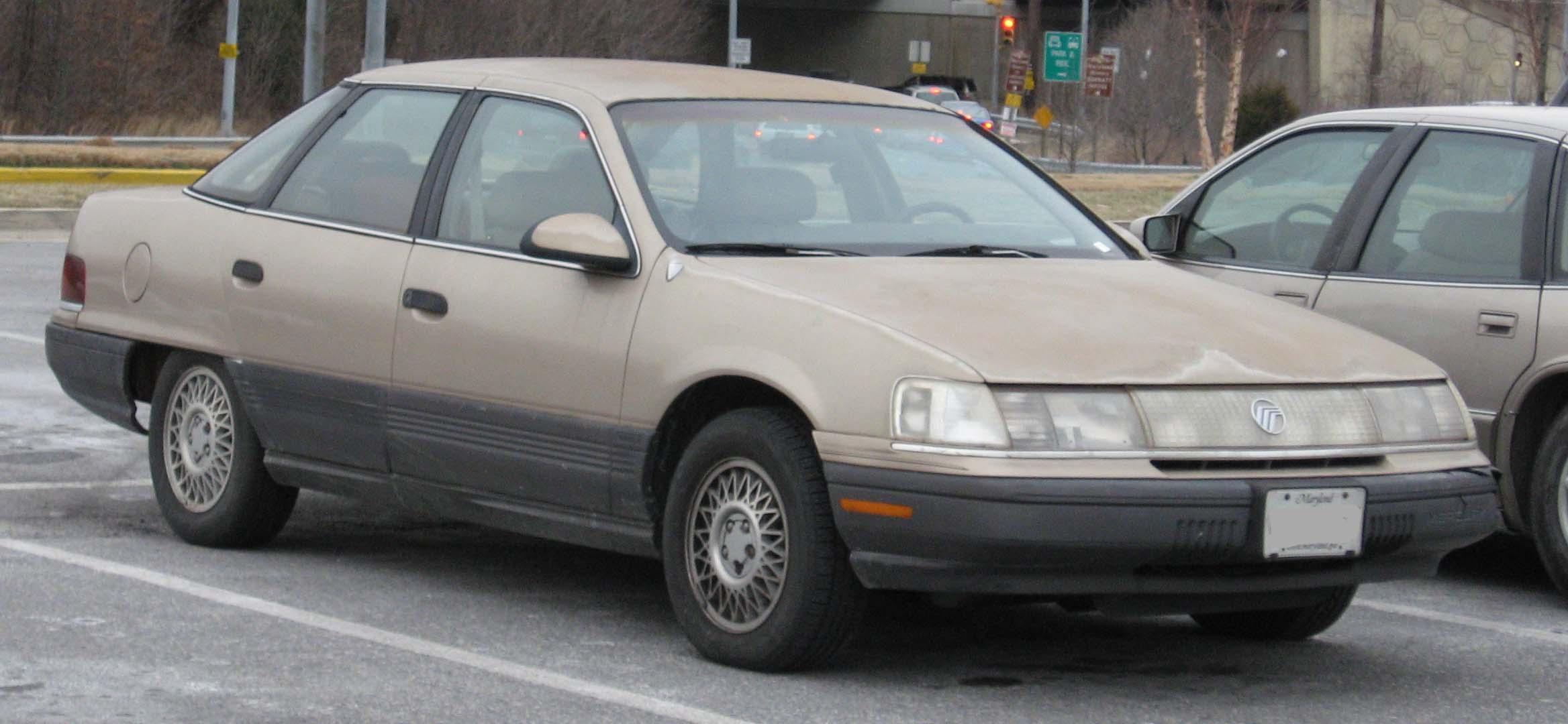 Mercury Sable I 1986 - 1991 Sedan #3