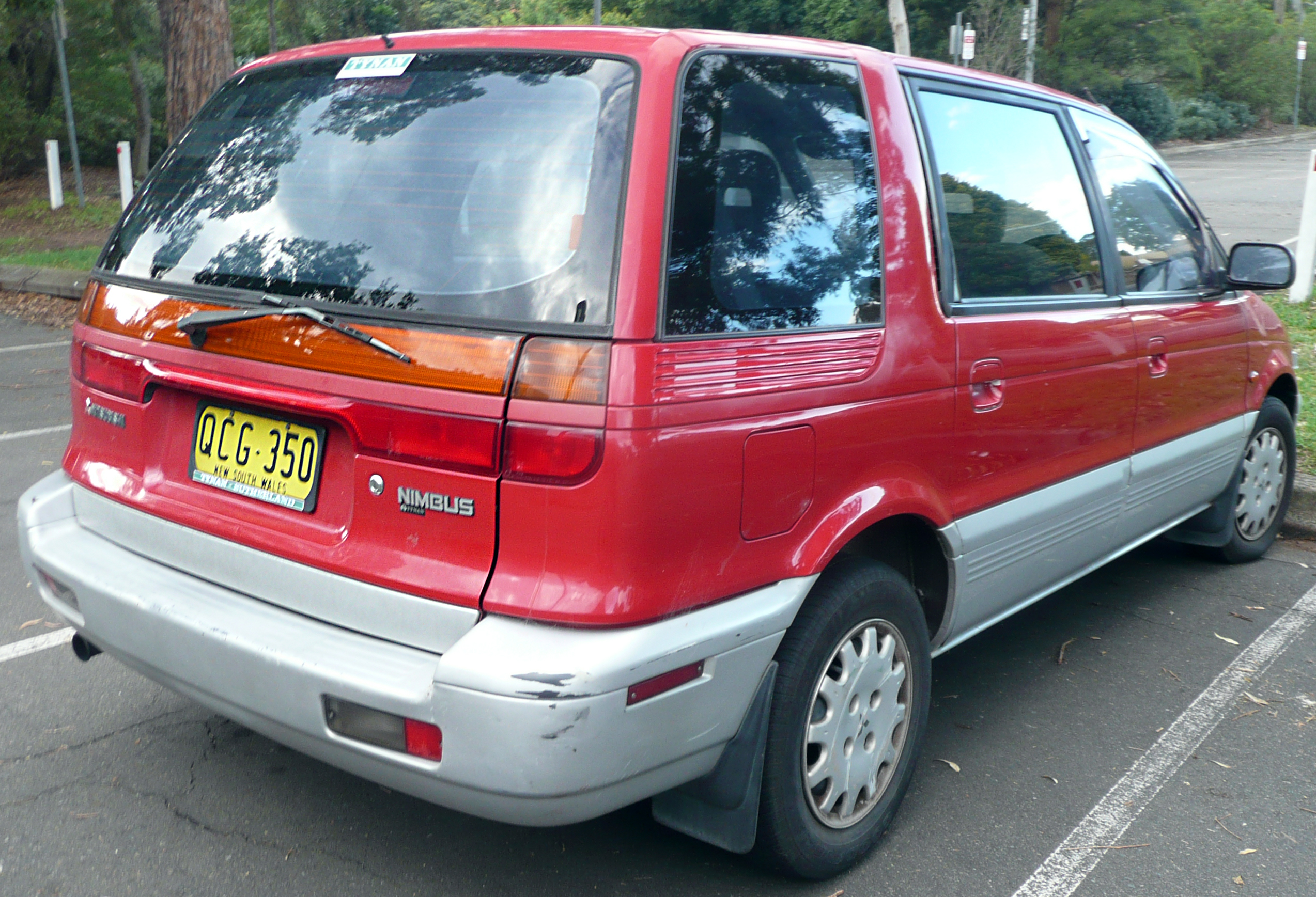 Mitsubishi Space Wagon I 1983 - 1991 Compact MPV #2