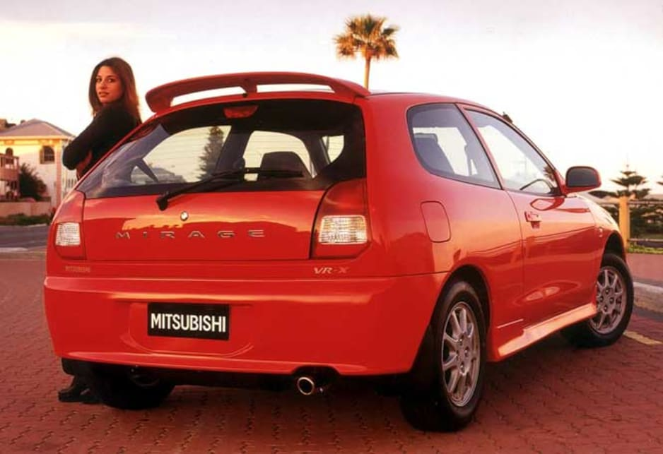 Mitsubishi Mirage V 1995 - 2003 Hatchback 3 door #4