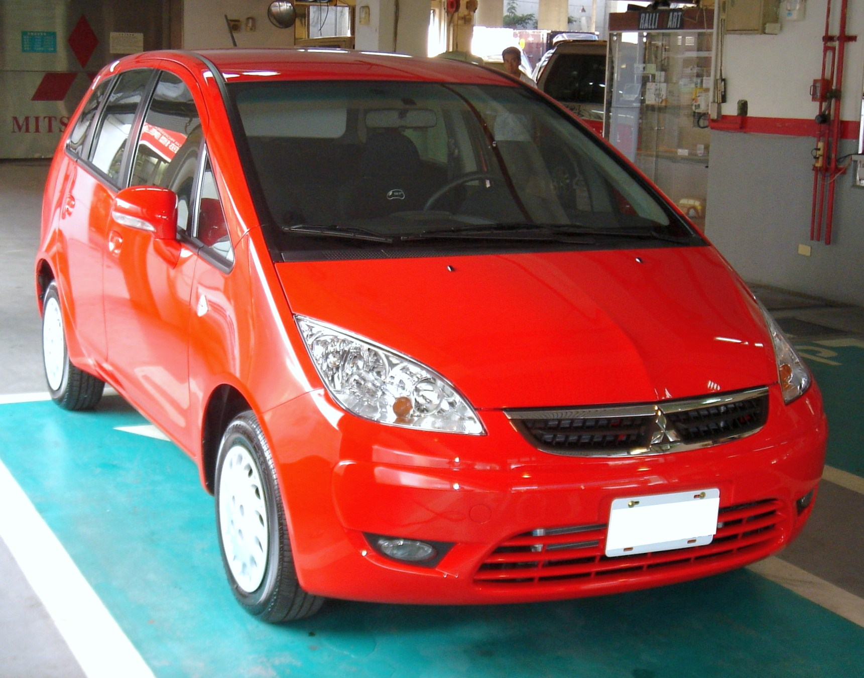 Mitsubishi Colt VI (Z30) 2002 - 2008 Station wagon 5 door #3