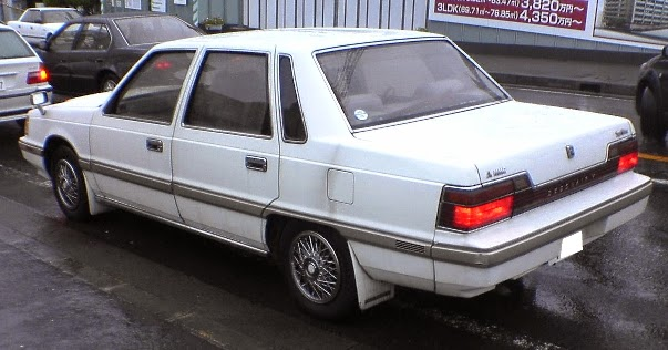 Mitsubishi Debonair II 1986 - 1992 Sedan #3