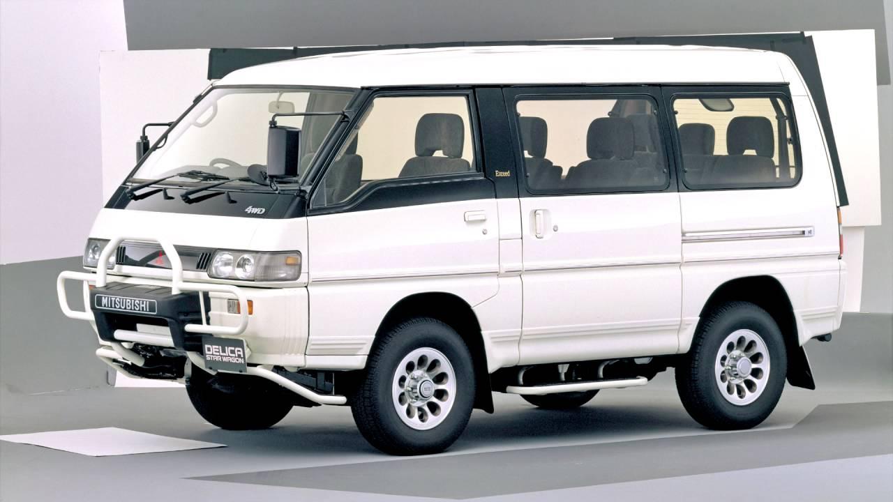 Mitsubishi Delica III 1986 - 1999 Minivan #2