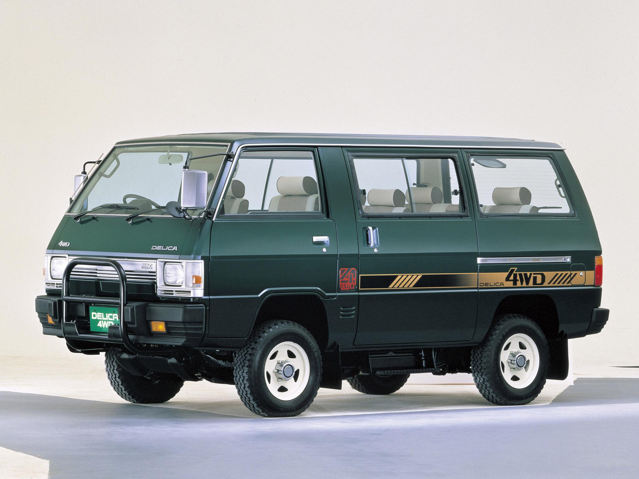 Mitsubishi Delica III 1986 - 1999 Minivan #4