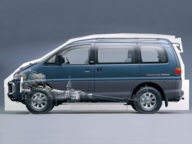 Mitsubishi Delica IV 1993 - 2007 Minivan #6