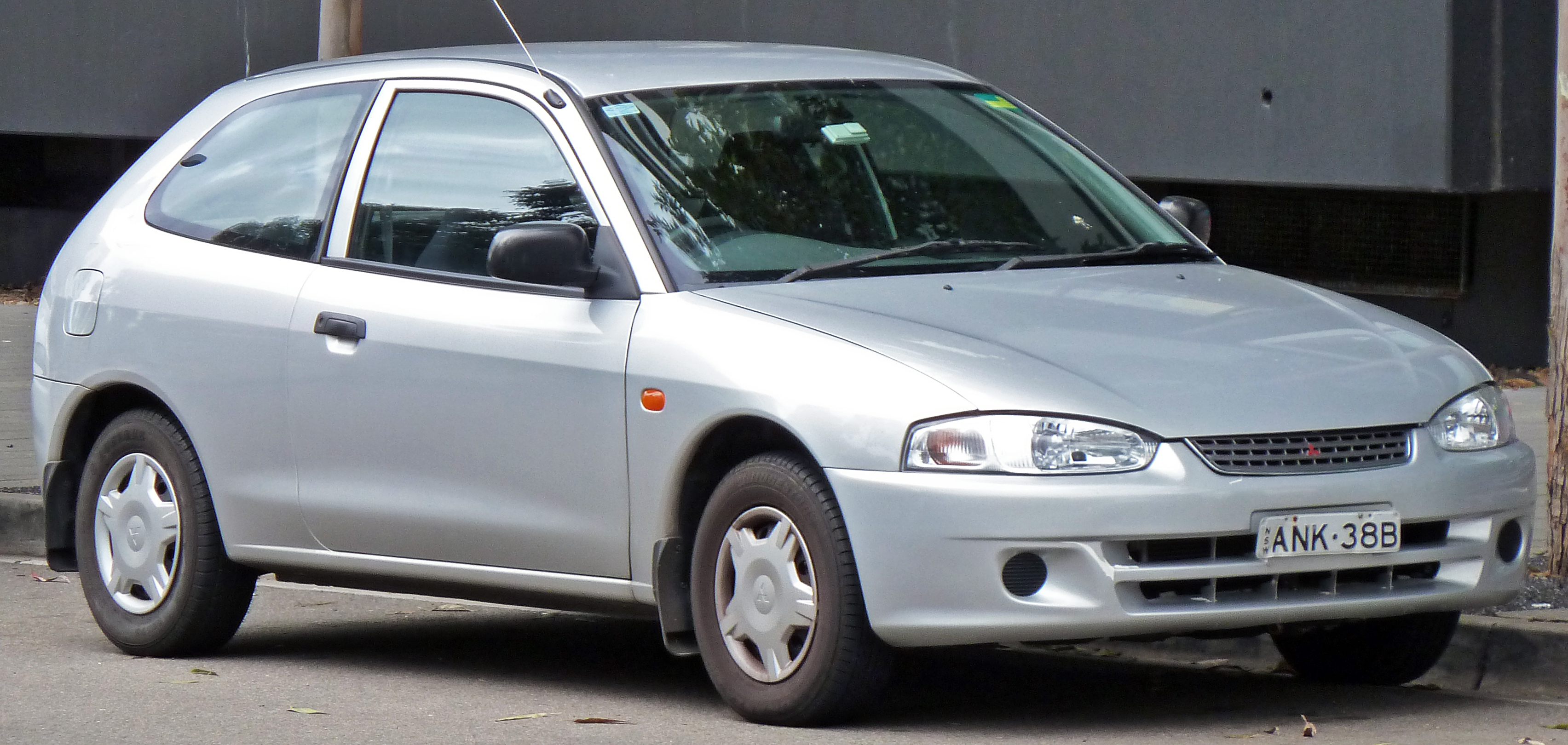 Mitsubishi Mirage V 1995 - 2003 Hatchback 3 door #3