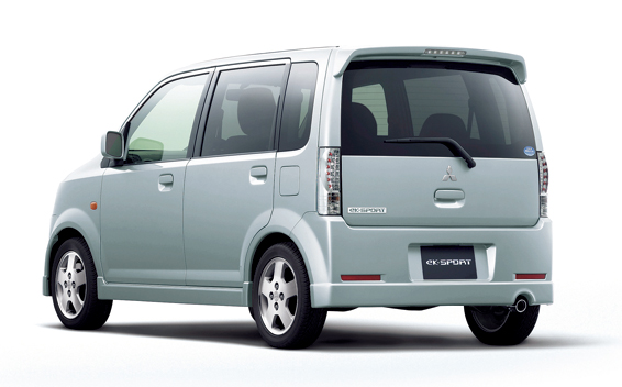 Mitsubishi eK Sport I 2002 - 2006 Hatchback 5 door #3
