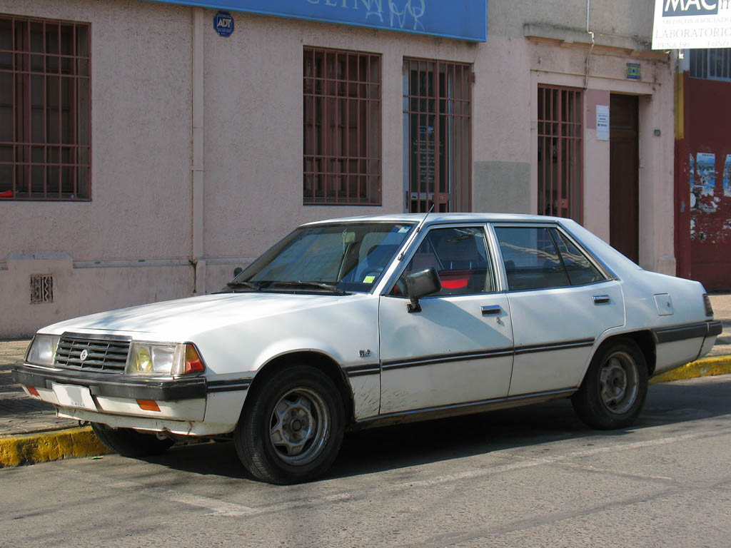 Mitsubishi Eterna V 1983 - 1989 Sedan #3
