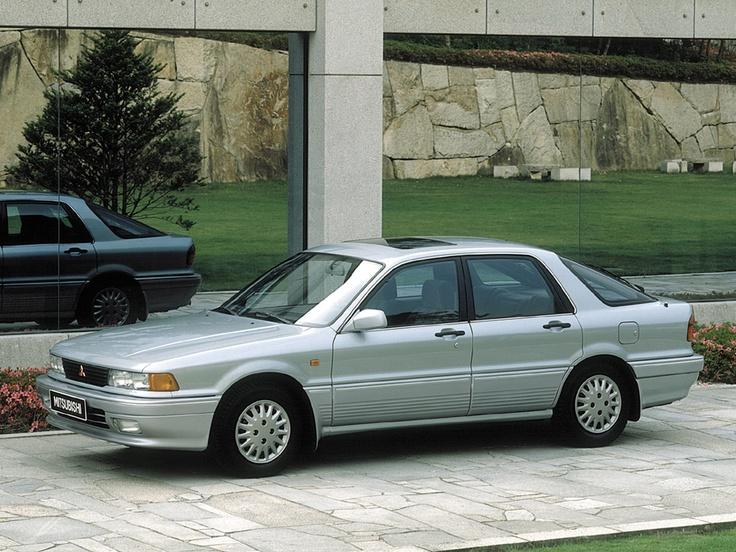 Mitsubishi Galant VI 1987 - 1992 Sedan #3