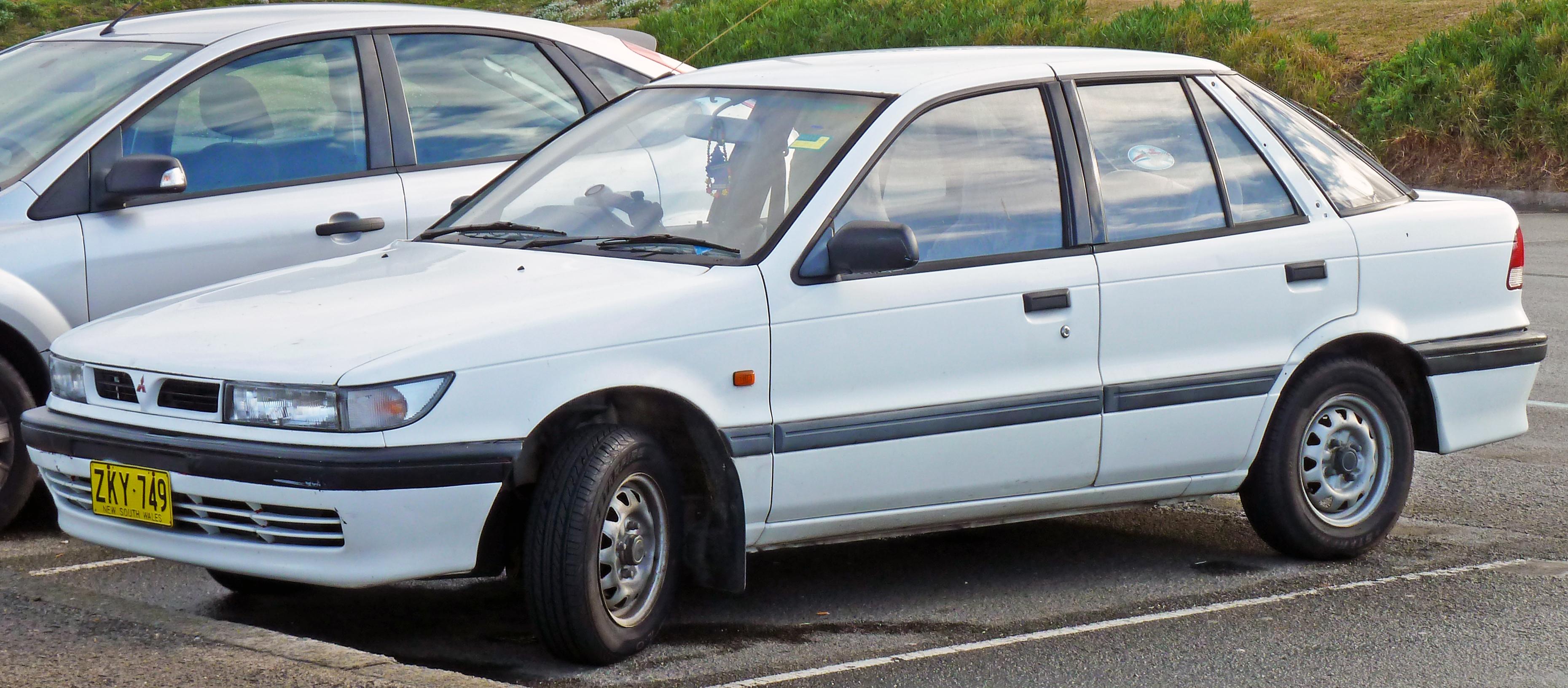 Mitsubishi Galant VII 1992 - 1996 Sedan #1