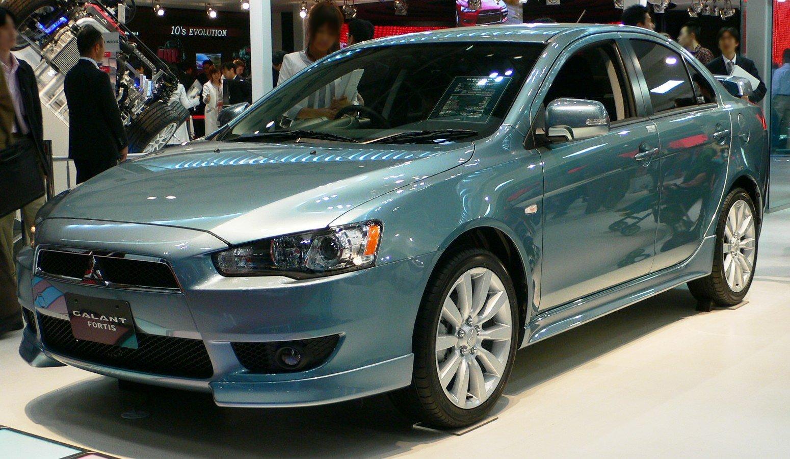 Mitsubishi Galant Fortis I 2007 - 2015 Sedan #8