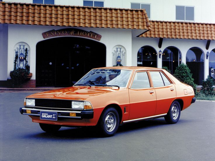 Mitsubishi Galant III 1976 - 1980 Sedan #7
