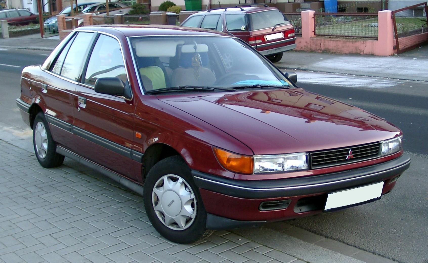 Mitsubishi Galant VI 1987 - 1992 Sedan #2
