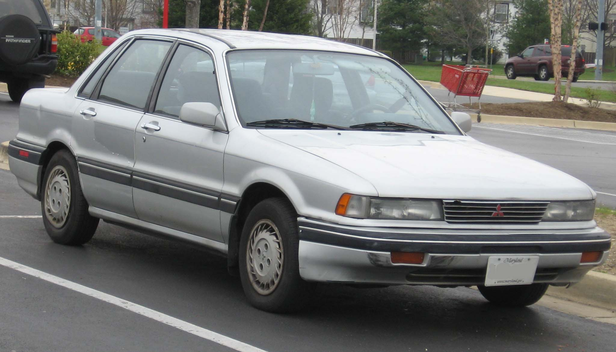 mitsubishi galant vi 1987 1992 sedan outstanding cars rh carsot com Mitsubishi Galant Manual Transmission Interior Mitsubishi Galant Transmission Standard