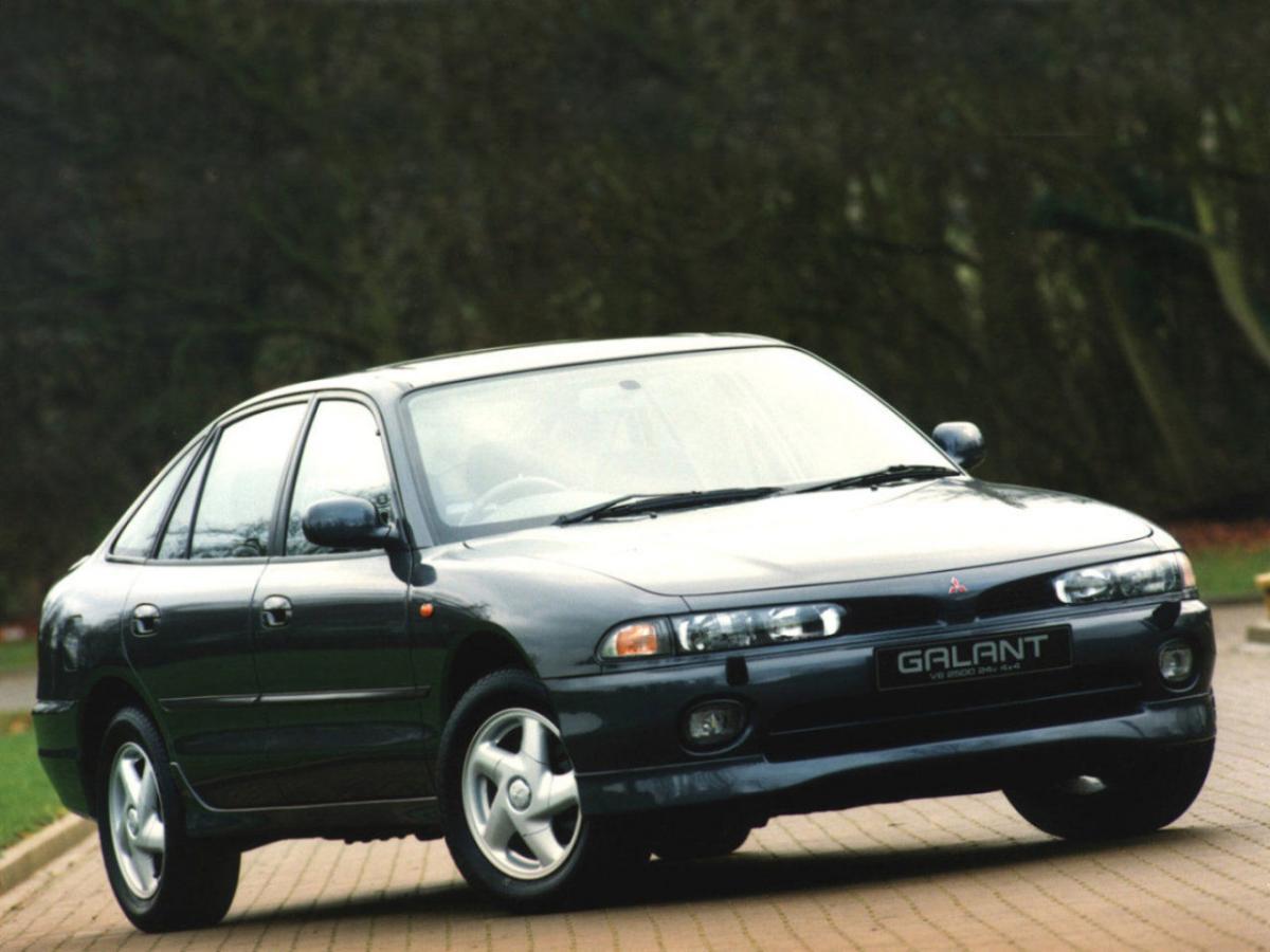 Mitsubishi Galant VII 1992 - 1996 Hatchback 5 door #2
