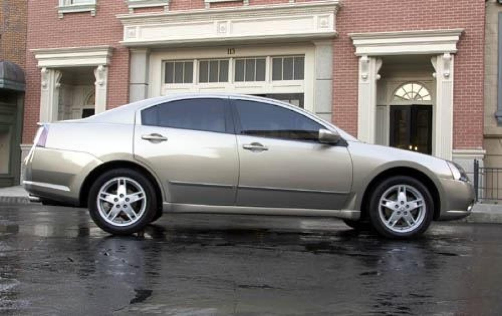 Mitsubishi Galant VIII 1996 - 2006 Sedan #3