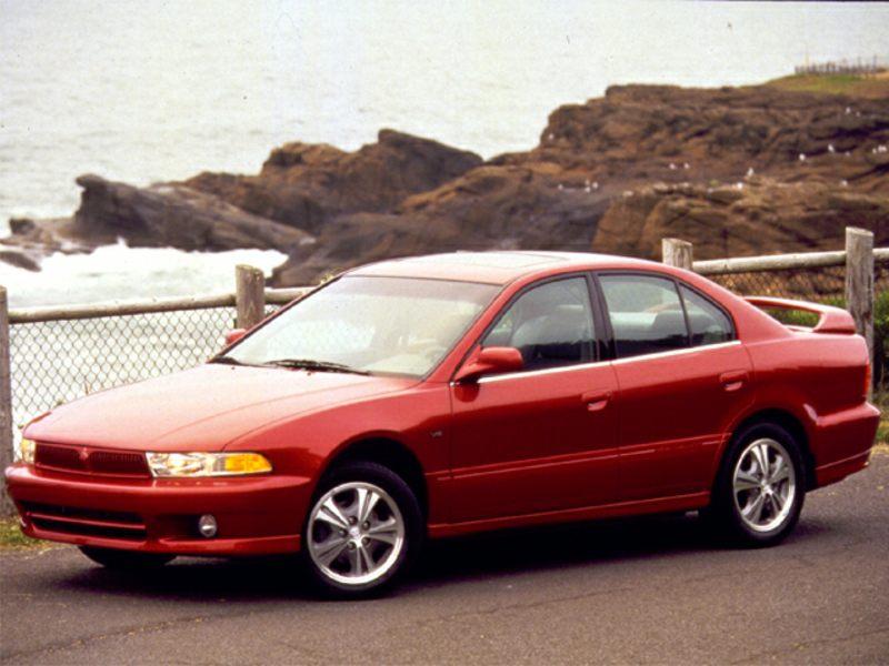 Mitsubishi Galant VIII 1996 - 2006 Sedan #1