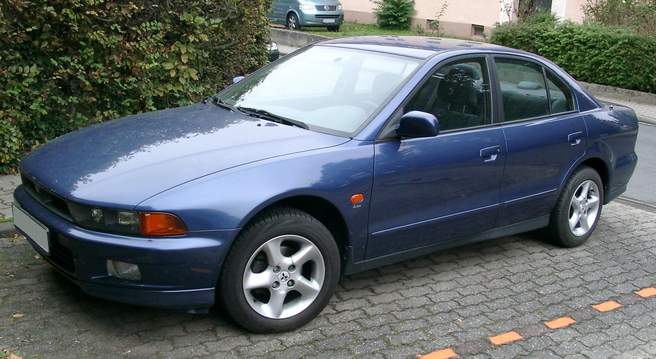 Mitsubishi Galant VIII 1996 - 2006 Sedan #2