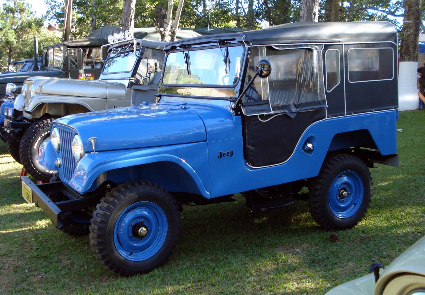 Mitsubishi Jeep J 1953 - 1998 SUV 3 door #3