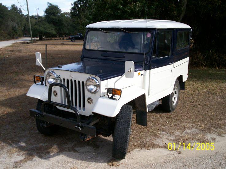 Mitsubishi Jeep J 1953 - 1998 SUV 3 door #6