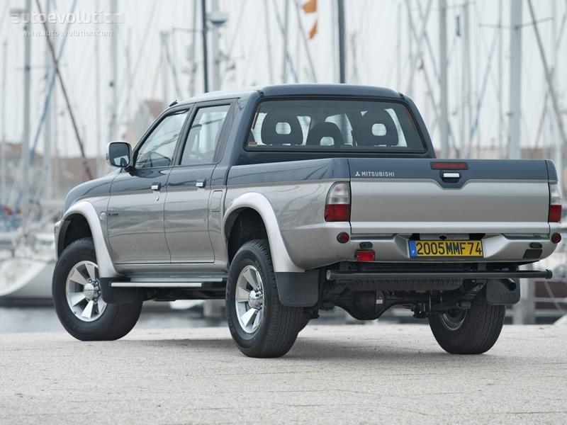 Mitsubishi L200 II 1986 - 1996 Pickup #5