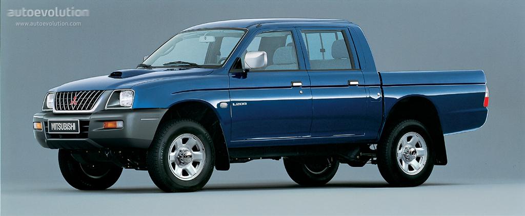 Mitsubishi L200 II 1986 - 1996 Pickup #1