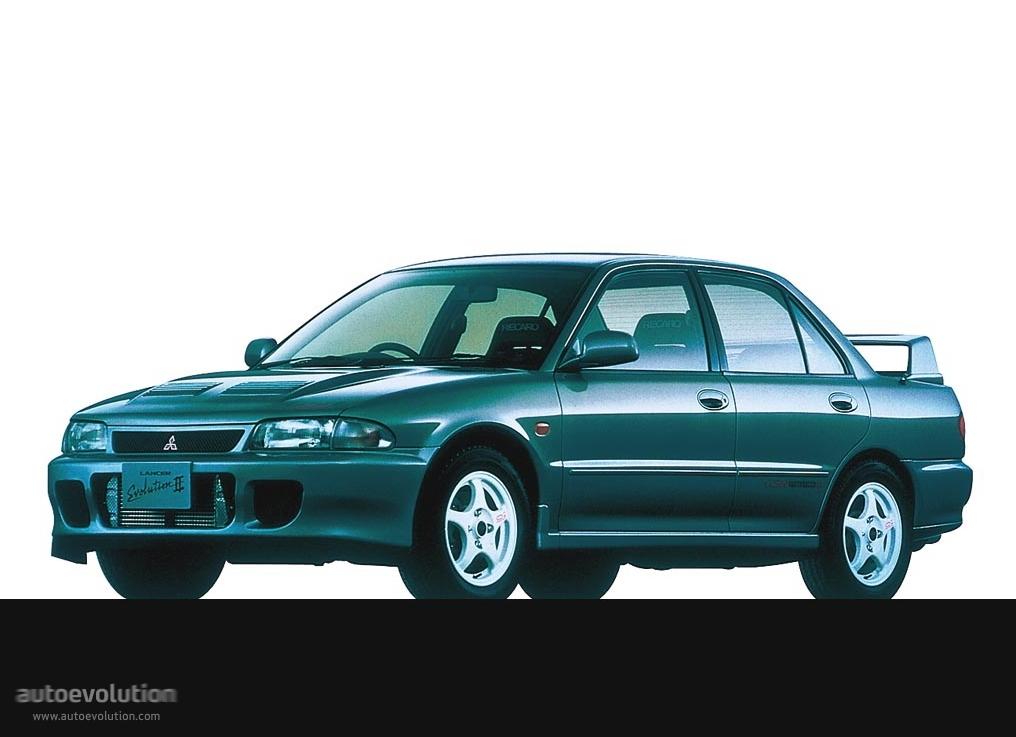 Mitsubishi Lancer Evolution II 1994 - 1995 Sedan #6
