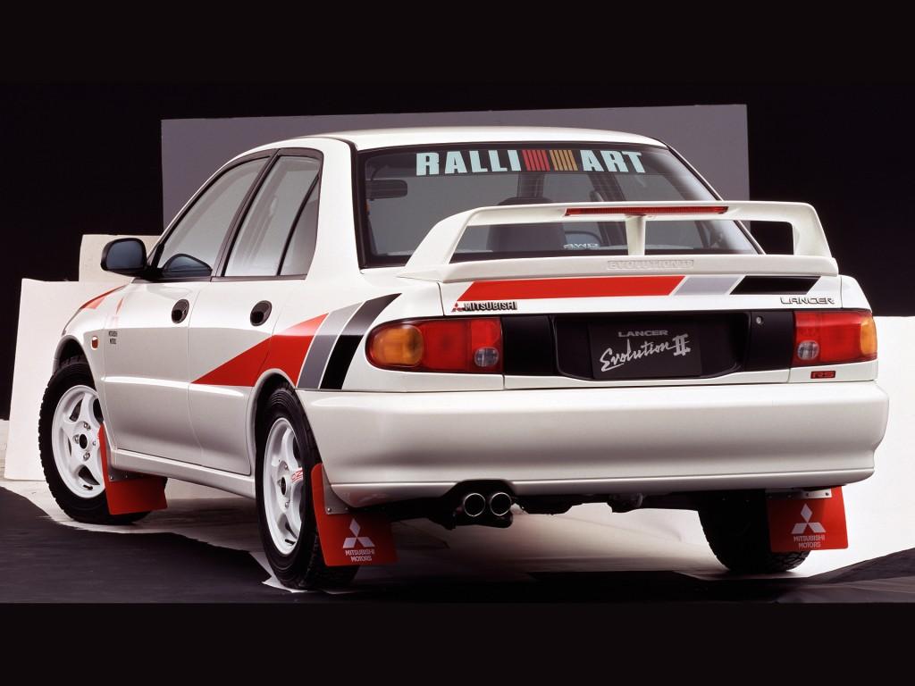 Mitsubishi Lancer Evolution II 1994 - 1995 Sedan #7