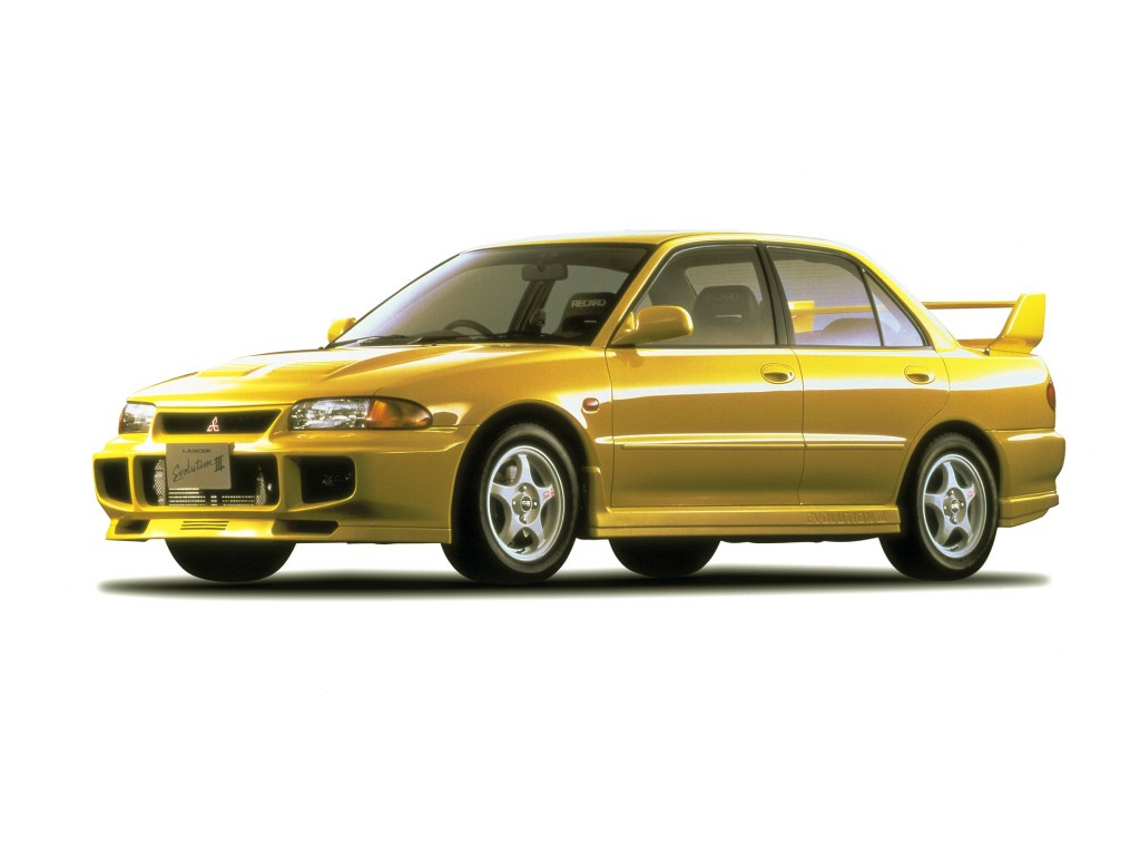 Mitsubishi Lancer Evolution II 1994 - 1995 Sedan #8