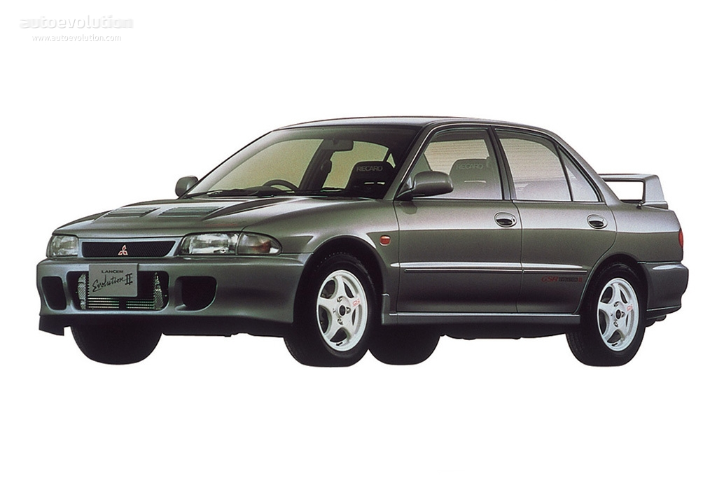 Mitsubishi Lancer Evolution II 1994 - 1995 Sedan #5