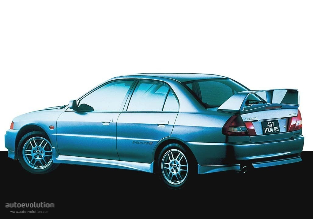 Mitsubishi Lancer Evolution IV 1996 - 1998 Sedan #4