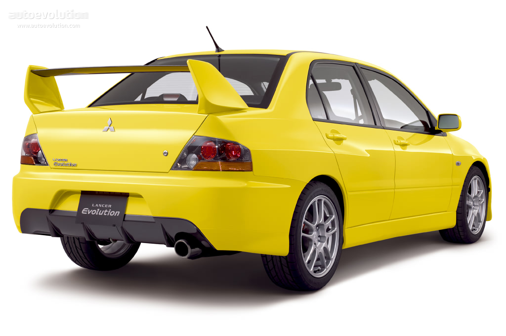 Mitsubishi Lancer Evolution IX 2005 - 2007 Sedan #4