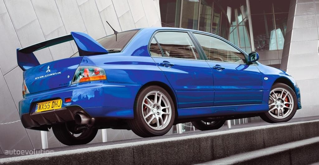 Mitsubishi Lancer Evolution IX 2005 - 2007 Sedan #6