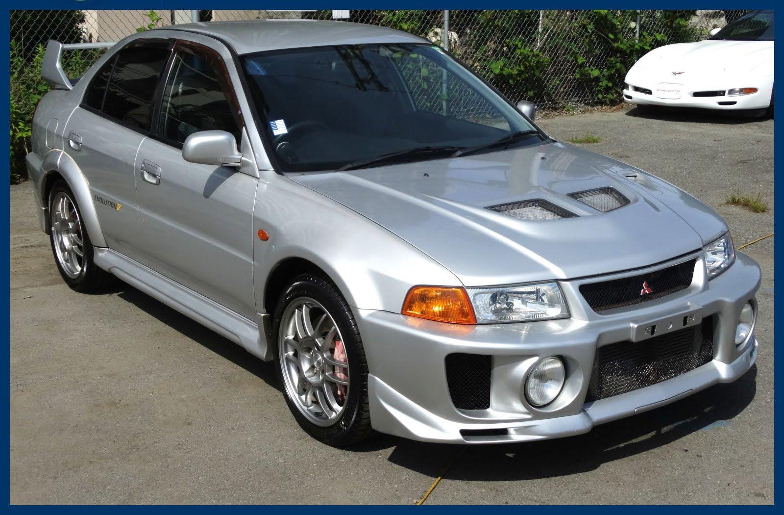 Mitsubishi Lancer Evolution V 1998 - 1999 Sedan #4