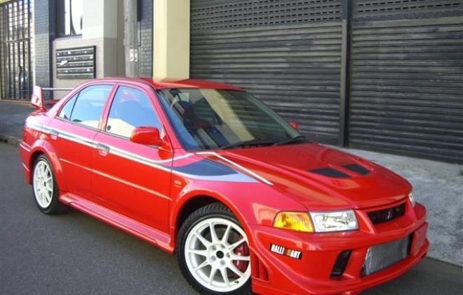 Mitsubishi Lancer Evolution VI 1999 - 2001 Sedan #6