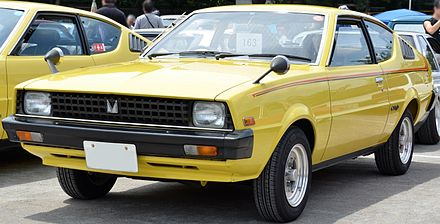 Mitsubishi Lancer I 1973 - 1985 Coupe #5