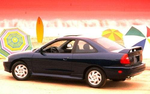 Mitsubishi Mirage IV 1991 - 1995 Coupe #1