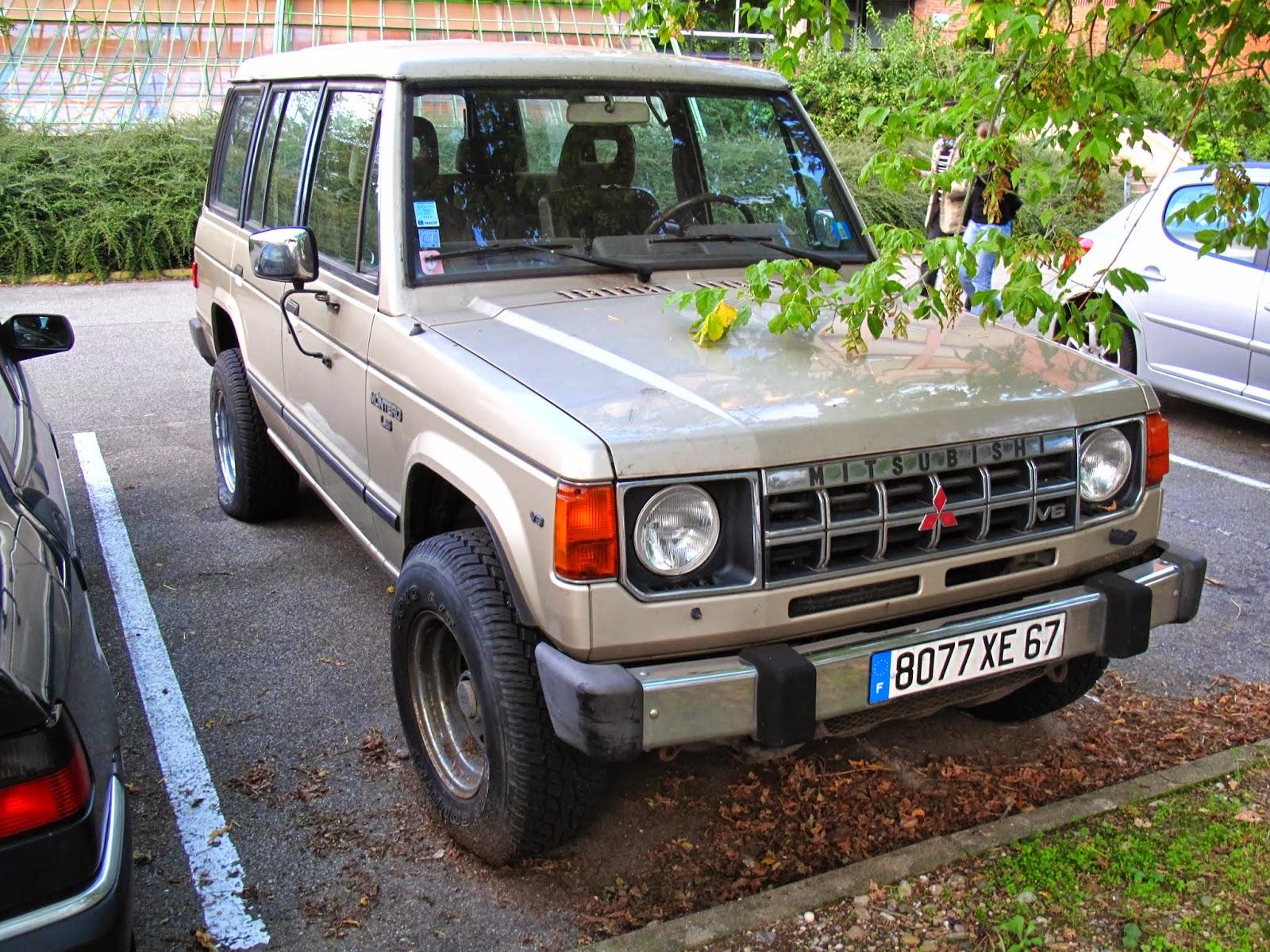 Mitsubishi Montero I 1982 - 1991 SUV 5 door #4