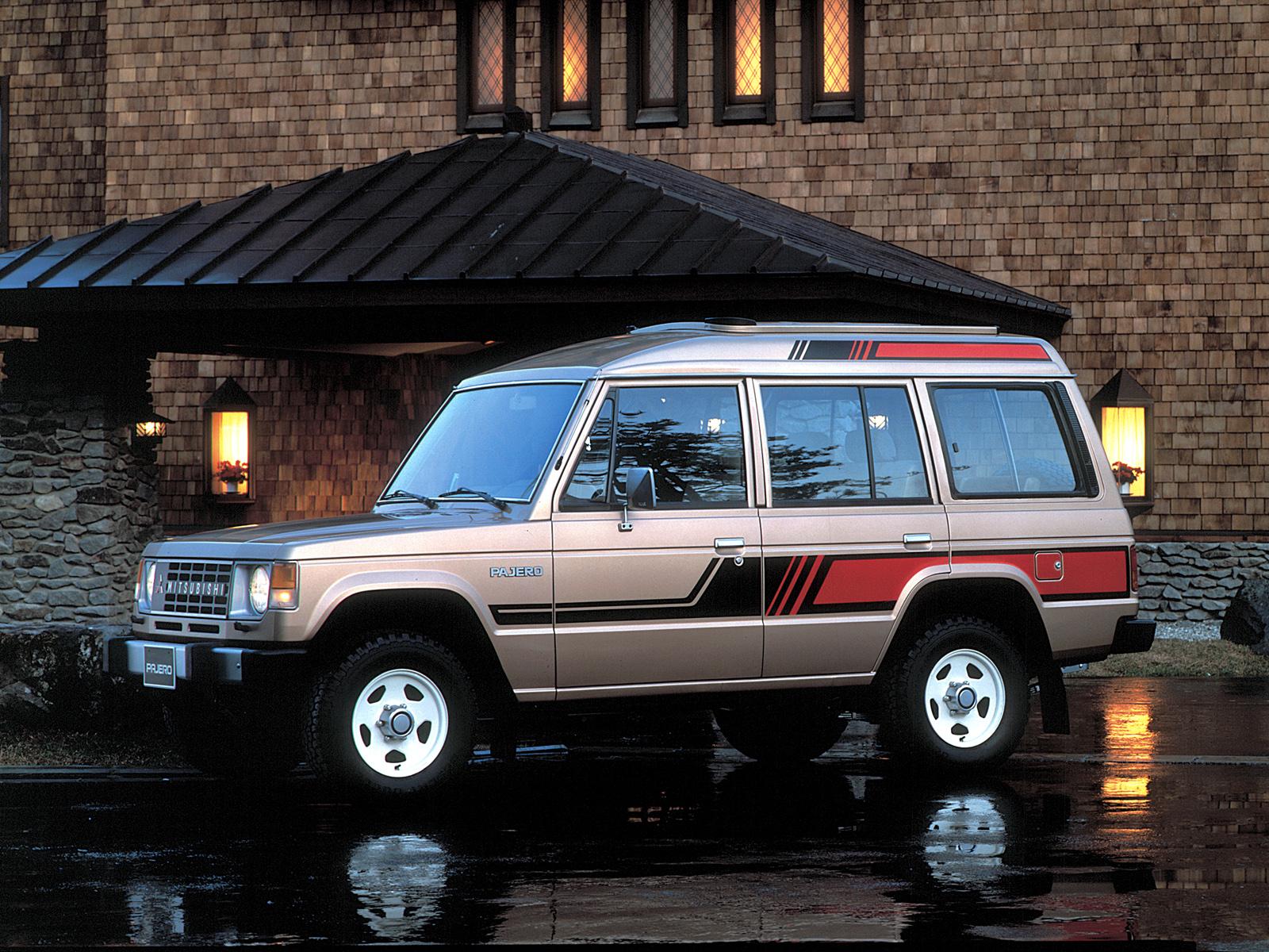 Mitsubishi Montero I 1982 - 1991 SUV 5 door #2