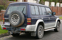 Mitsubishi Montero II 1991 - 1999 SUV 3 door #3