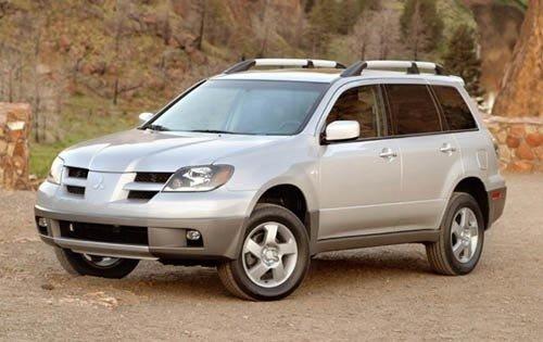 Mitsubishi Outlander I 2003 - 2008 SUV 5 door #8