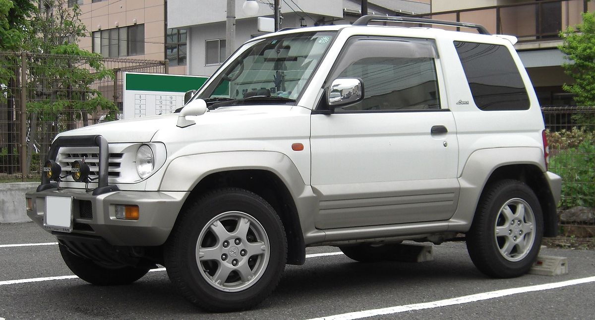 Mitsubishi Pajero Mini I 1994 - 1998 SUV 3 door #8